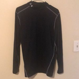Black Under Armour cold gear compression shirt XL